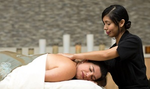 InterContinental Spa: Swedish Massage, Custom Facial, and/or Pedicure at InterContinental Spa Boston (55% Off). 3 Options Available.