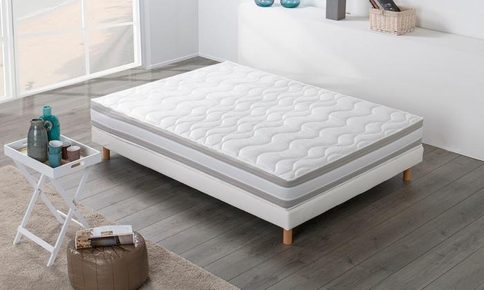 matelas 5 zones m moire de forme groupon shopping. Black Bedroom Furniture Sets. Home Design Ideas