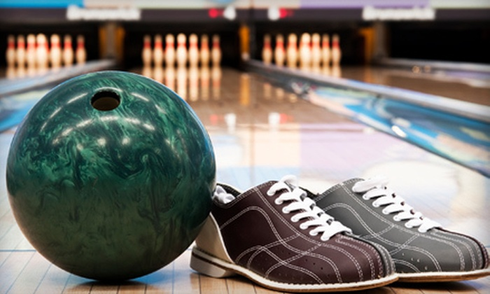 Hollywood Bowl - Hollywood: Two Games of Bowling and Shoe Rental for Two or Up to Five at Hollywood Bowl (Up to 71% Off)