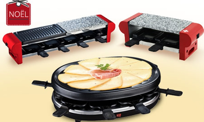 appareil raclette pierre griller pour 2 4 ou 8 personnes groupon shopping. Black Bedroom Furniture Sets. Home Design Ideas