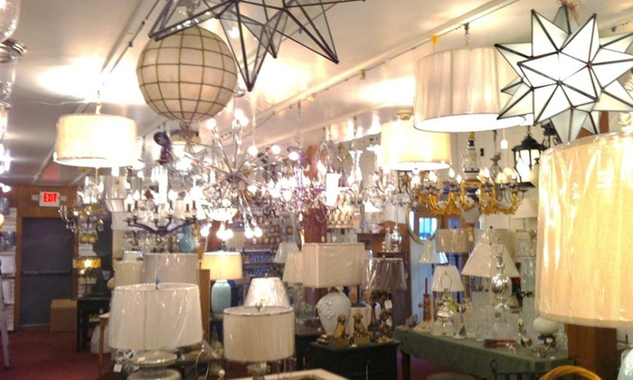 Lamp Shades and Lighting By Siempre - Siempre: $13 for $25 Worth of Ceiling Fixtures — Siempre Lamp shades, Lighting Showroom