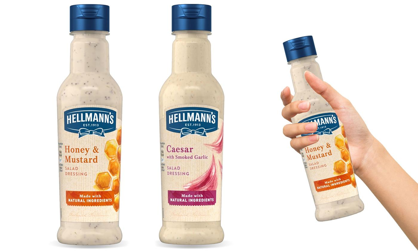 Hellmann's Salad Dressing 210ml Eight-Pack