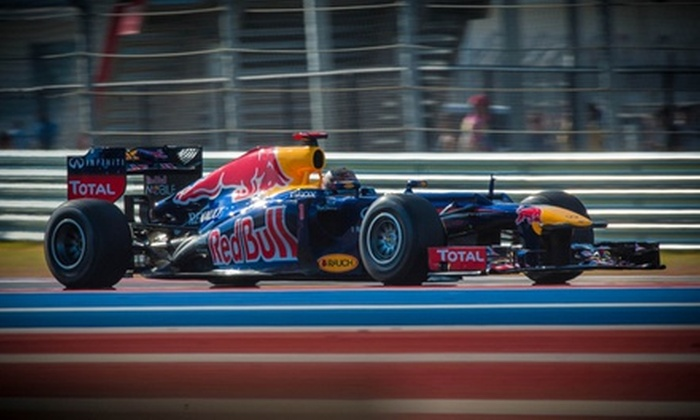 Platinium Group - Thoroughbred Estates: Three-Day Pass to the Formula 1 United States Grand Prix at Circuit of the Americas on November 15 to 17
