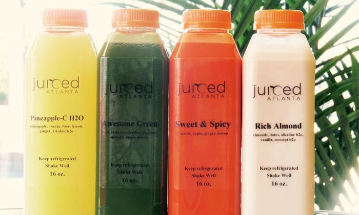 "Juiced Atlanta - Juiced Atlanta: $25 for $38 Worth of One-Day ""Juicing for Beginners"" Cleanse at Juiced Atlanta"