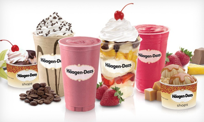 Annie's Euro American Bakery and Haagen Dazs Shop - Chinatown: Ice Cream and Baked Goods at Annie's Euro American Bakery and Häagen-Dazs Shop (Half Off). Three Options Available.
