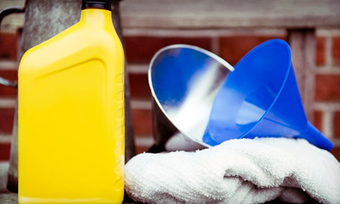 A+ Auto Services - Crescent Heights: One or Two Oil Changes with 30-Point Inspections at A+ Auto Services (Up to 75% Off)