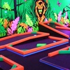 Up to 55% Off Glow-in-the-Dark Mini Golf