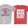 Men's Baseball Graphic T-Shirts