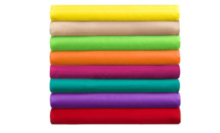 Super Brights Collection 4-Piece Microfiber Sheet Set
