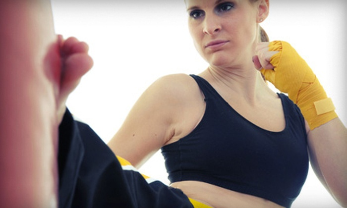 CKO Kickboxing - Williamsburg: $49 for 10 One-Hour Kickboxing Classes at CKO Kickboxing ($200 Value)