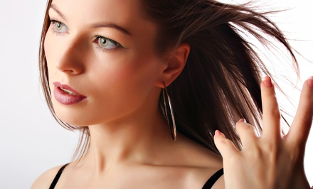 Haircut, Wash, and Color Services at Salon Encore (Up to 66% Off)