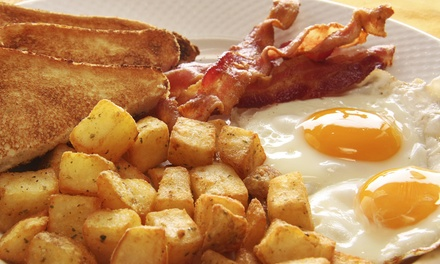 Breakfast Platter with Juice or Coffee for One, Two, or Four at Bacon Nation (Up to 45% Off)