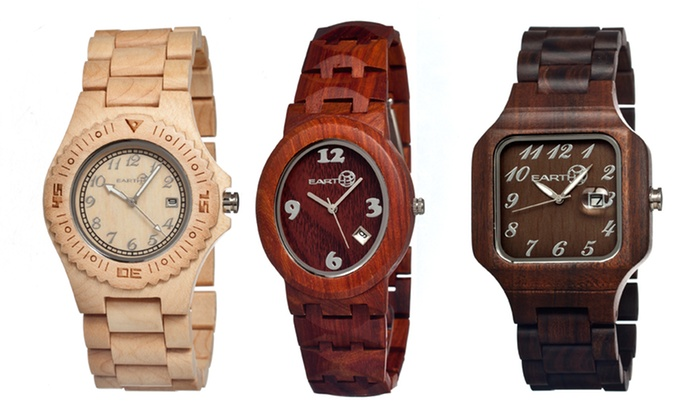 Earth Watches for Men and Women: Earth Watches for Men and Women. Multiple Styles Available.
