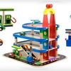 $29 for a Parking-Garage Play Set with Cars