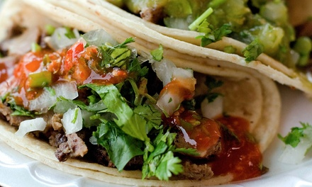 Mexican Food at Antigua Bar & Grill (50% Off). Two Options Available.