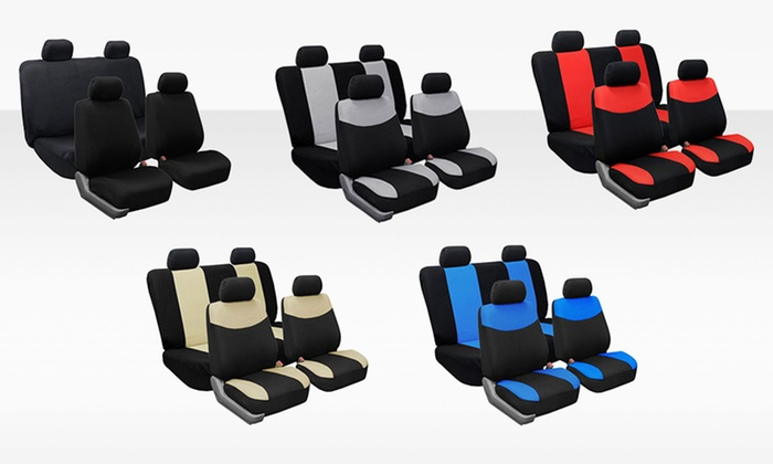 Set of Universal-Fit Car-Seat Covers: Set of Universal-Fit Car-Seat Covers. Multiple Colors Available. Free Shipping and Returns.