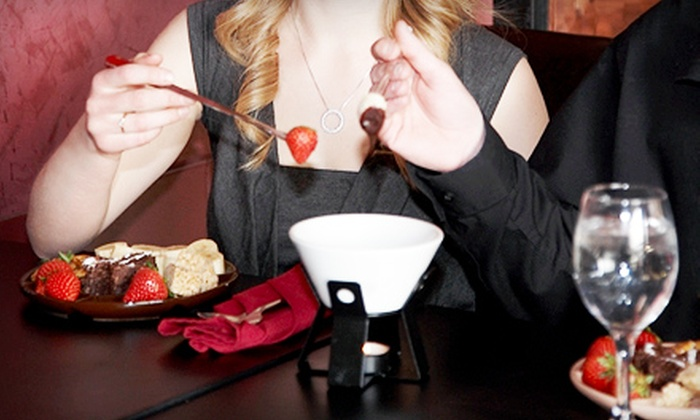 The Upstairs Fondue Restaurant - Nutana: $25 for $50 Toward a Four-Course Fondue Meal for Two at The Upstairs Fondue Restaurant