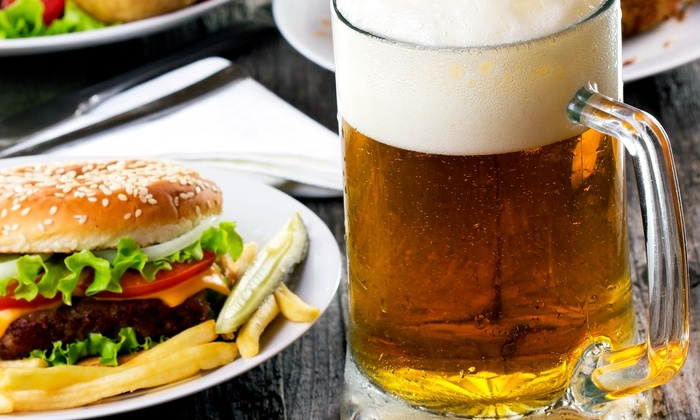 Legends Grill, Sports & Spirits - Convention Center: Meal of Sandwiches and Burgers with Beer for Two or Four at Legends Grill, Sports & Spirits (Up to 45% Off)