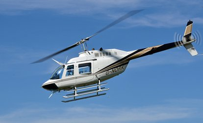 image for Helicopter Buzz Flight with Optional Front Seat Experience for One, Two or Three (Up to 32% Off)*