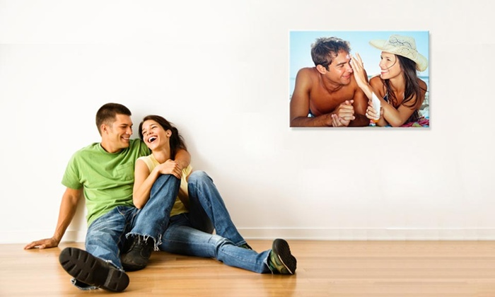 """Blank Wall: $19.99 for 16""""x20"""" Custom Canvas Print from Blank Wall ($129 Value)"""