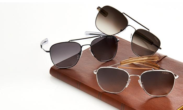 Fendi: $129 for Fendi Women's Aviator Sunglasses ($425 List Price). Assorted Styles. Free Shipping and Returns.