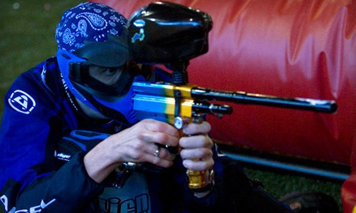Eastie Boyz Paintball - Islington - City Centre West: C$22 for Three Hours of Indoor Paintball for Two with Gear at Eastie Boyz Paintball ($60 Value)