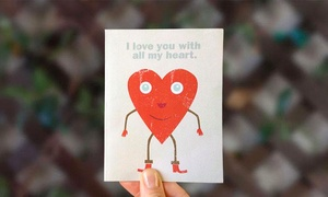 Paperwoven: $5 for Annual Membership and One Paper Greeting Card with Shipment from Paperwoven  ($13.87 value)