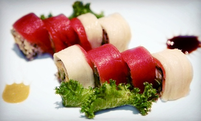 Sun Cafe - Sun Cafe: Sushi and Pan-Asian Cuisine During Dinner or Lunch at Sun Cafe (Half Off)