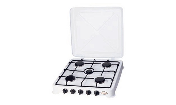 Groupon Goods: Five-Burner Compact Gas Stove for R499.99 Including Delivery (74% Off)