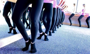 Pure Barre: 5 or 10 Barre Classes at Pure Barre (Up to 59%Off)