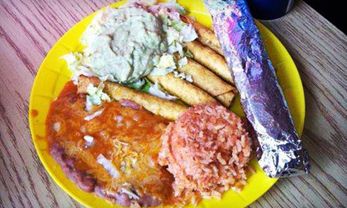 El Taco Rey - Downtown: $10 for $20 Worth of Authentic Mexican Food and Drinks at El Taco Rey