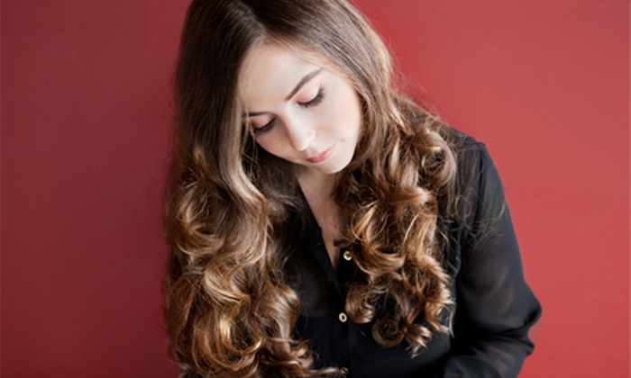 Sara Skaufel at The Masters Touch Salon - Spokane Valley: Cut and Style with Deep Conditioning, Color, or Highlights from Sara Skaufel at The Masters Touch Salon (Up to 55% Off)