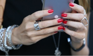 Le Manoir Coquetterie: Manicure and Pedicure with OPI Gel Nail Polish or Facial at Le Manoir Coquetterie (Up to 57% Off)
