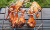 Drumstick and Chicken Wing Folding Stainless Steel Grilling Rack: Drumstick and Chicken Wing Folding Stainless Steel Grilling Rack