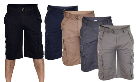 Men's Bermuda Cotton Cargo Shorts