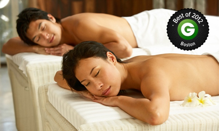 Republic of Wellness - Quincy Center: $79 for a Couples Massage at Republic of Wellness (Up to $160 Value)