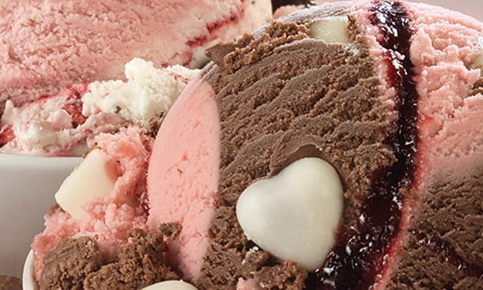 Baskin Robbins - North Auburn: 5 or 10 Groupons, Each Good for One Single-Scoop Cup or Cone at Baskin Robbins (60% Off)