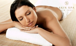 Skin Spa New York: One or Three Swedish or Deep-Tissue Massages at Skin Spa New York (Up to 50% Off)