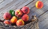 Up to 30% Off Peach Festival at Connors Farm