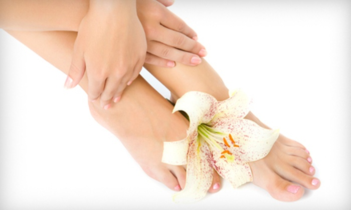 Peter Alexandra Salon & Spa - East Islip: Manicure and Pedicure (a $35 value)