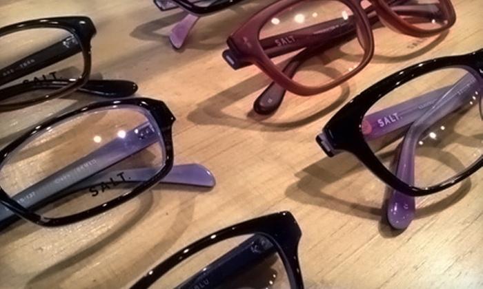 Village Optique - Raleigh: $100 Toward Eyeglass Lenses and Frames