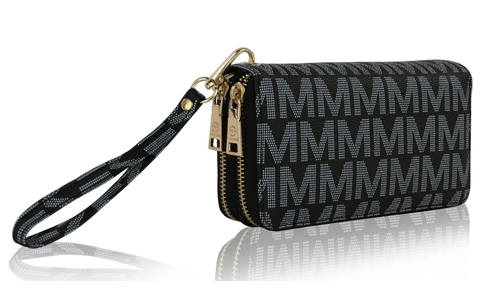 MKF Collection Women's Logo Wallet