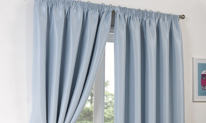 Blackout Curtains blackout curtains 90×90 : Luxury Blackout Curtains | Groupon Goods