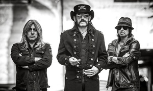 Motörhead At Riverside Municipal Auditorium On August 19 At 7 P.m. (up To 26% Off)