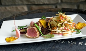 Napa River Grill: Three-Course Dinner for Two or Four at Napa River Grill (Up to 33% Off)