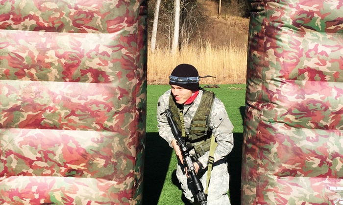 WarPlay Laser Tag - War Play Paintball: Three Hours of Military-Grade Laser Tag for Two or Four at WarPlay Laser Tag (50% Off)