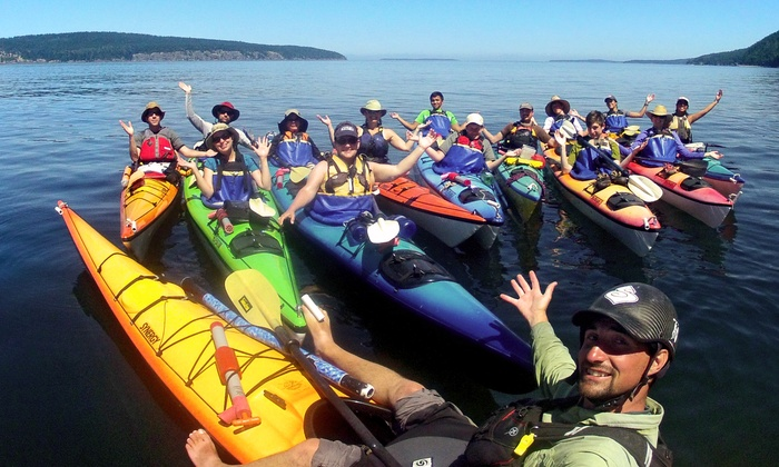 Outdoor Adventure Center - Multiple Locations: Redmond to Redhook Kayak Tour or Lopez Island Kayak Tour for One or Two from Outdoor Adventure Center (51% Off)