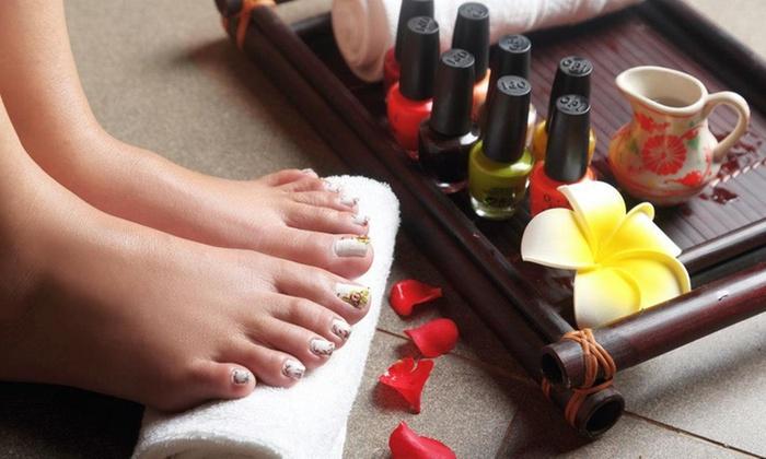 Elite signature spa pedicure elite nail spa groupon for 10 over 10 nail salon