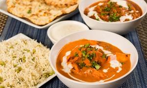 Ristorante Indiano Punjabi: Menu indiano con antipasto, dolce e bevanda tipica per 2 o 4 persone al ristorante Punjabi (sconto 57%)