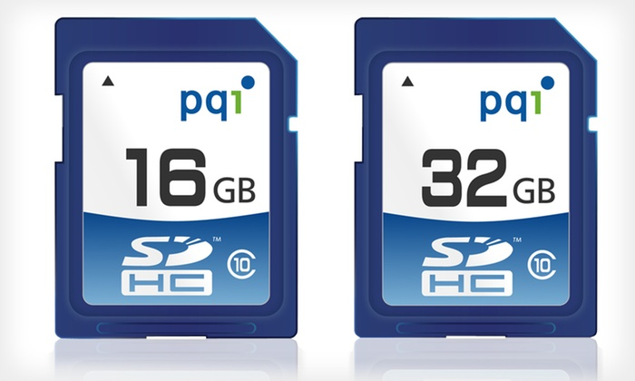 16GB or 32GB Flash Memory Card: 16GB or 32GB SDHC Class-10 Flash Memory Card (Up to 74% Off)
